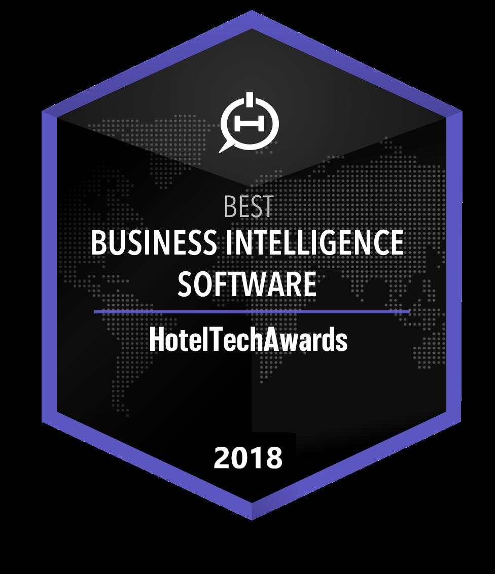 hotel business intelligence software award