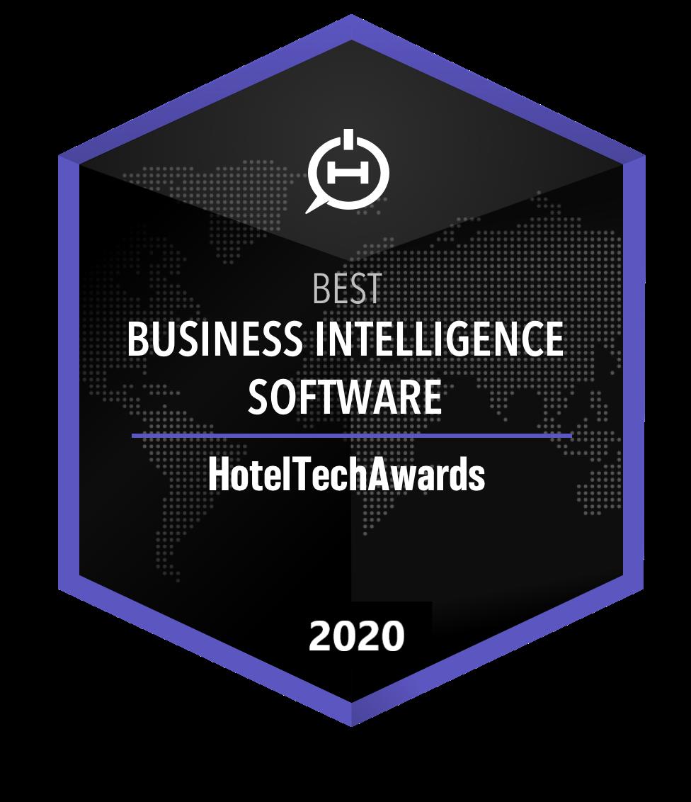 hotel intelligence software award