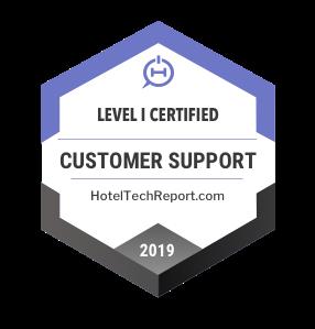 hotel customer support certification
